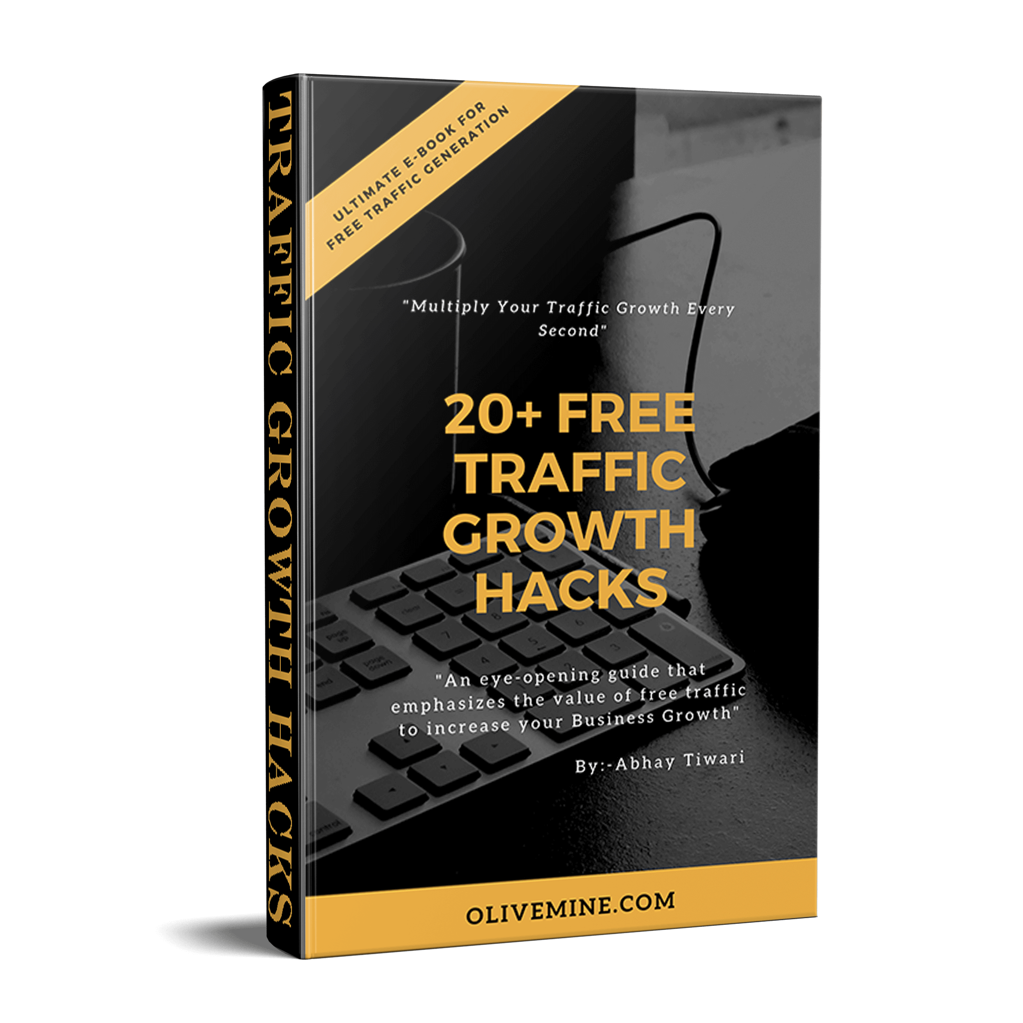 Traffic Growth hacks Ebook Cover