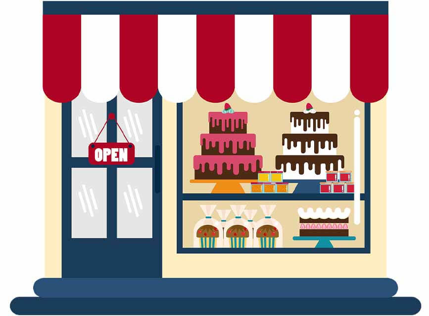 Cake Shop business ideas for woman