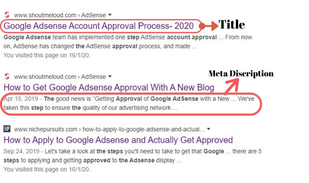 Google Adsense approval tips
